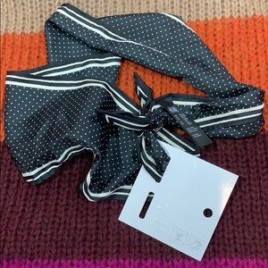 HM polka dot neck/head scarf